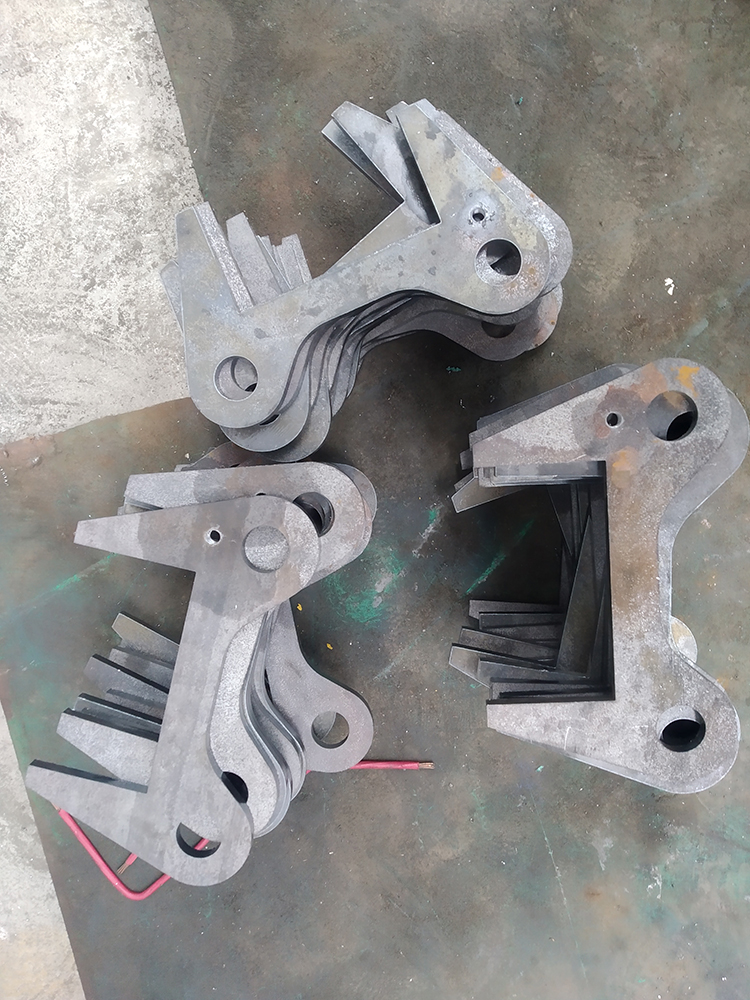 汽车尾板零件加工材料图